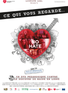 Affiche CQVR No hate