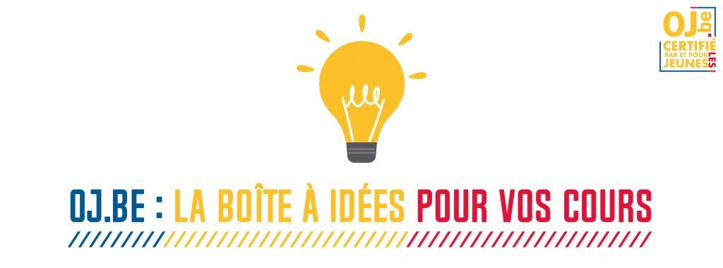 Boîte à idées pour vos cours